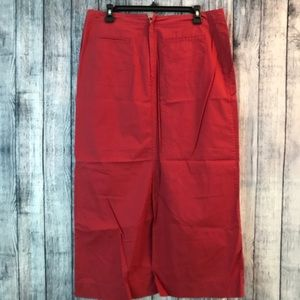 Old Navy Skirts - NWT Old navy size 12 red maxi skirt
